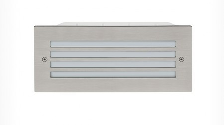 Brick Light Grill SS IP65 240V 6W LED