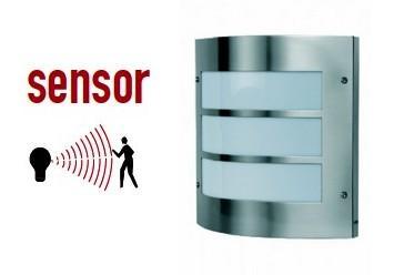 Armaturer med bevegelse sensor